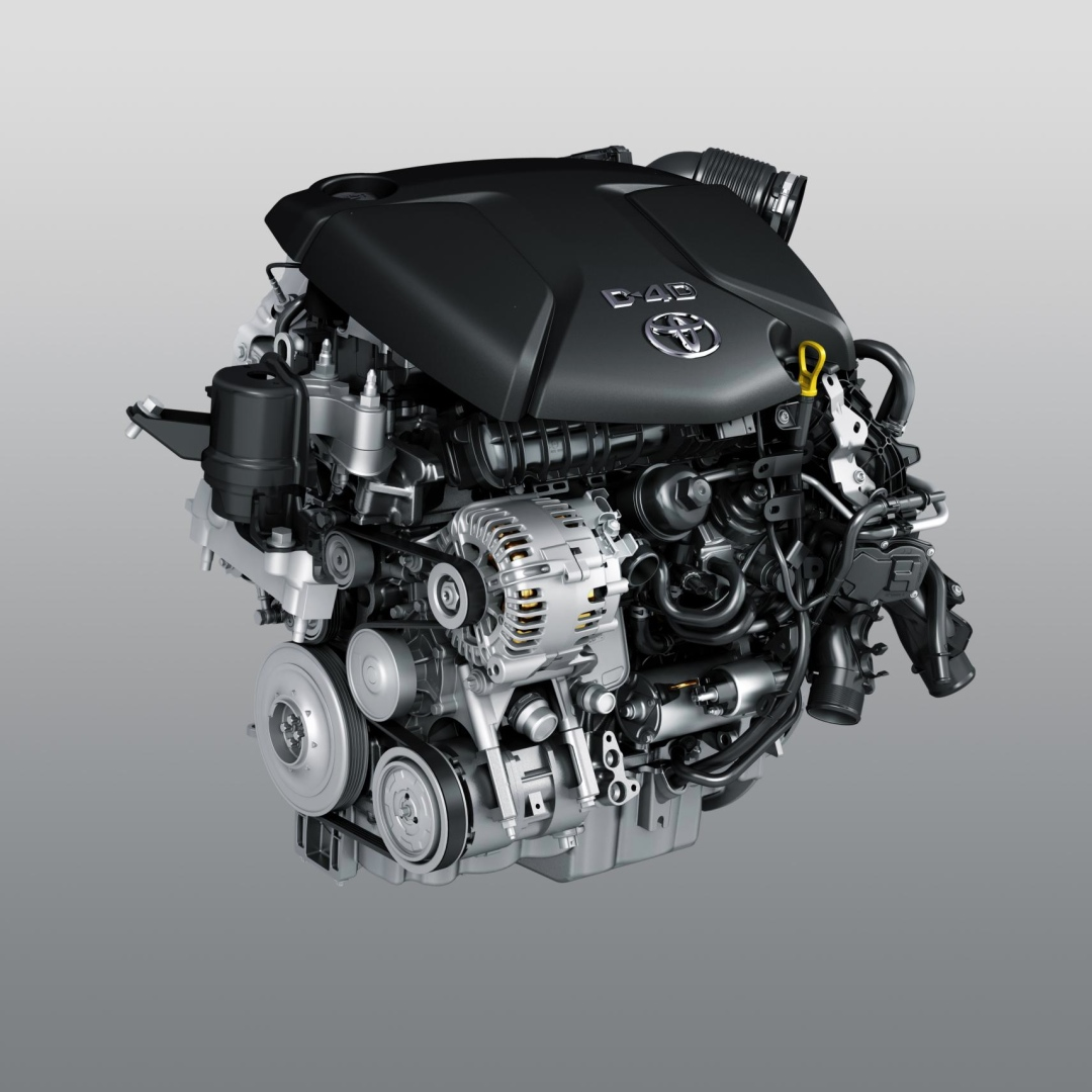 More Details About The New D-4d Diesel Engine