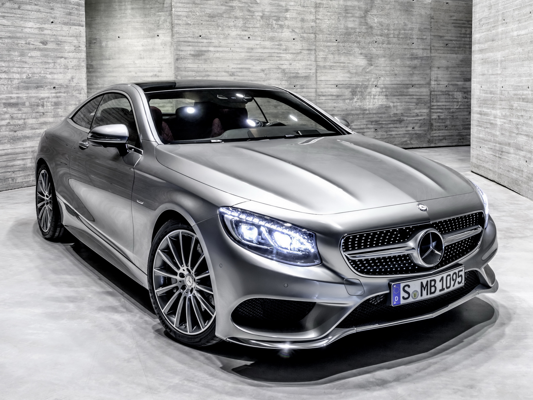 more mercedes s class coupe photos leak including amg. Black Bedroom Furniture Sets. Home Design Ideas