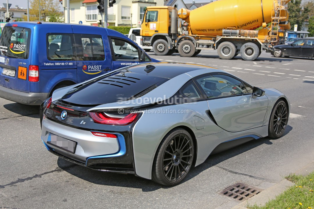 More Powerful Bmw I8 Spied Hides A More Potent Engine And Bigger