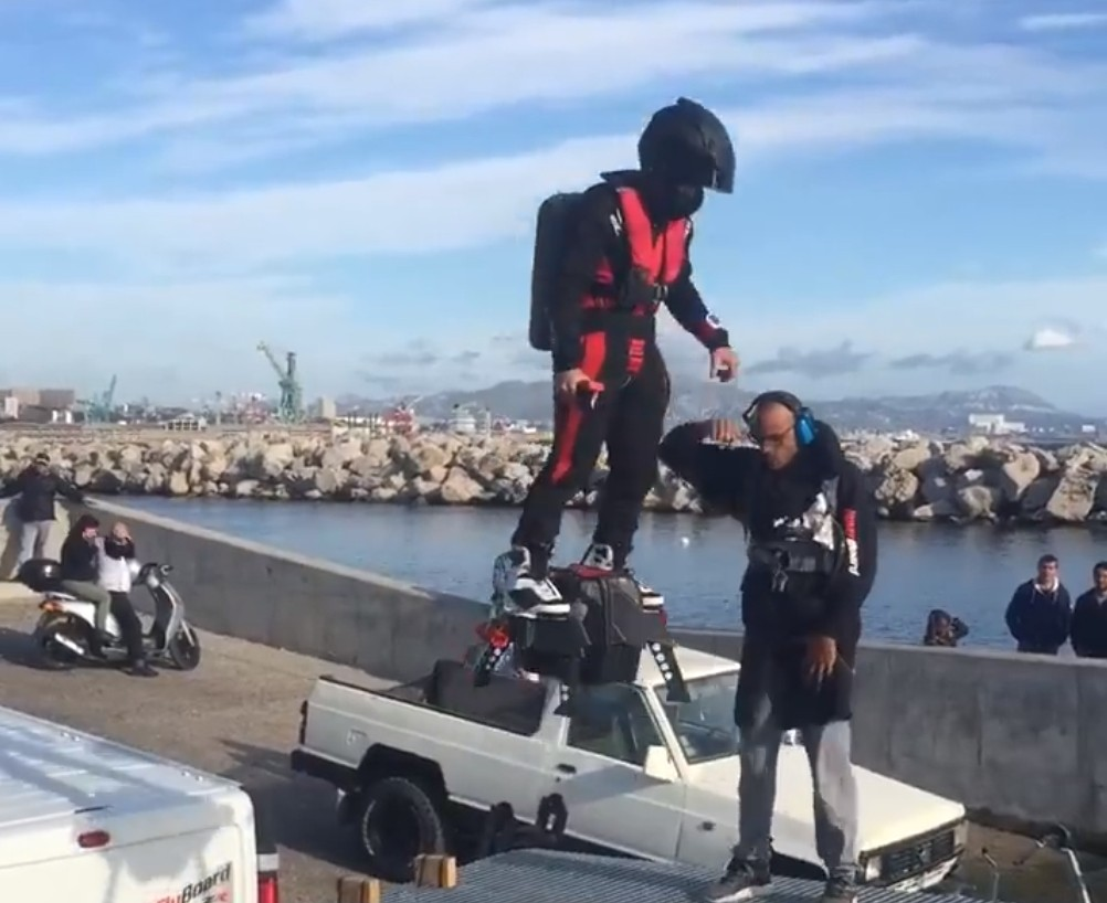 More videos of the amazing flyboard air in action autoevolution