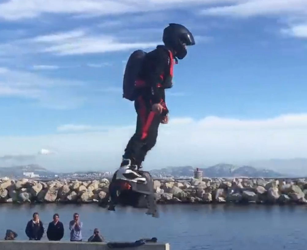 More Videos of the Amazing Flyboard Air in Action ...