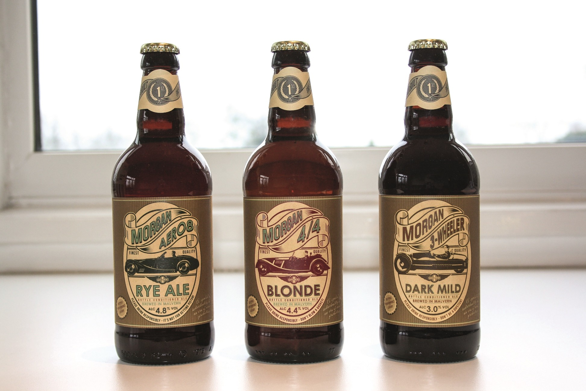 morgan beer is real and it comes in three varieties