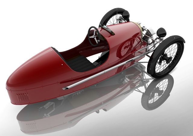 Morgan Reveals The Super Sports Junior 3 Wheeler Pedal Car