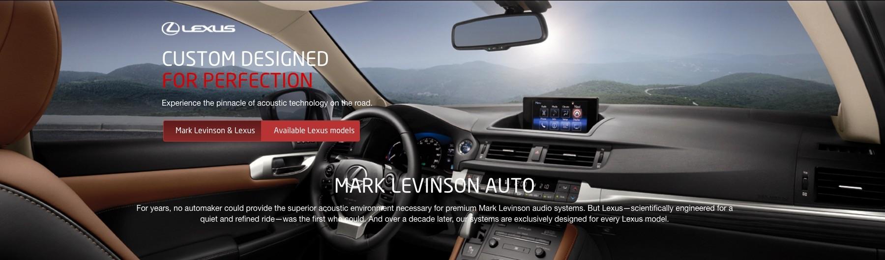 Lexus Audio System Upgrade