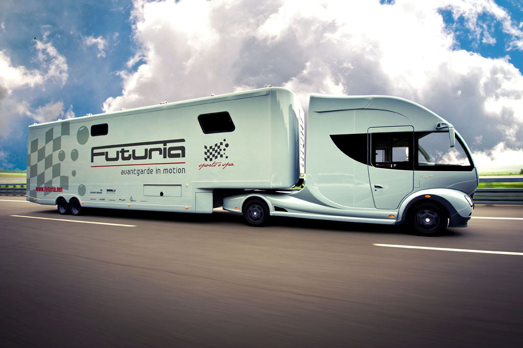 Most Futuria Motorhome Offers The Full Package Autoevolution