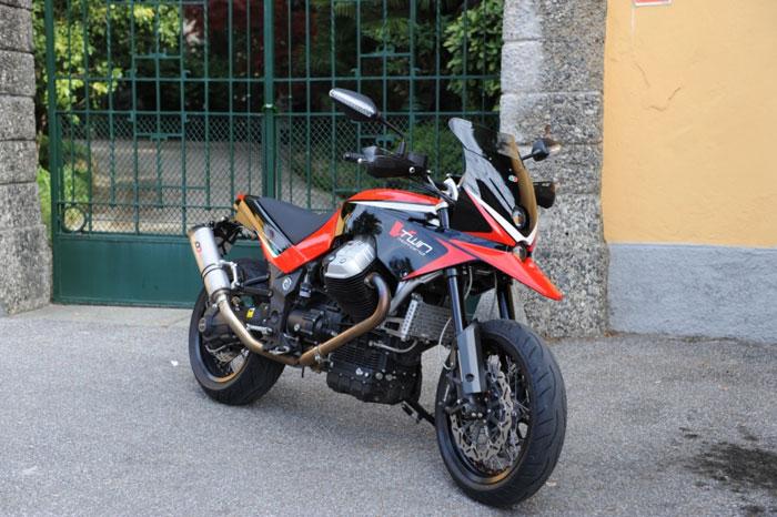 Moto Guzzi Griso Custom Motard By Ghezzi Brian Video