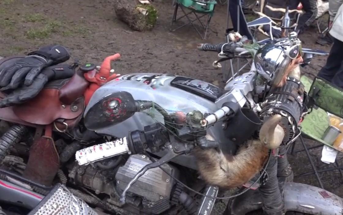Moto Guzzi Rat Sidecar At Elefantentreffen 2015 Hard To