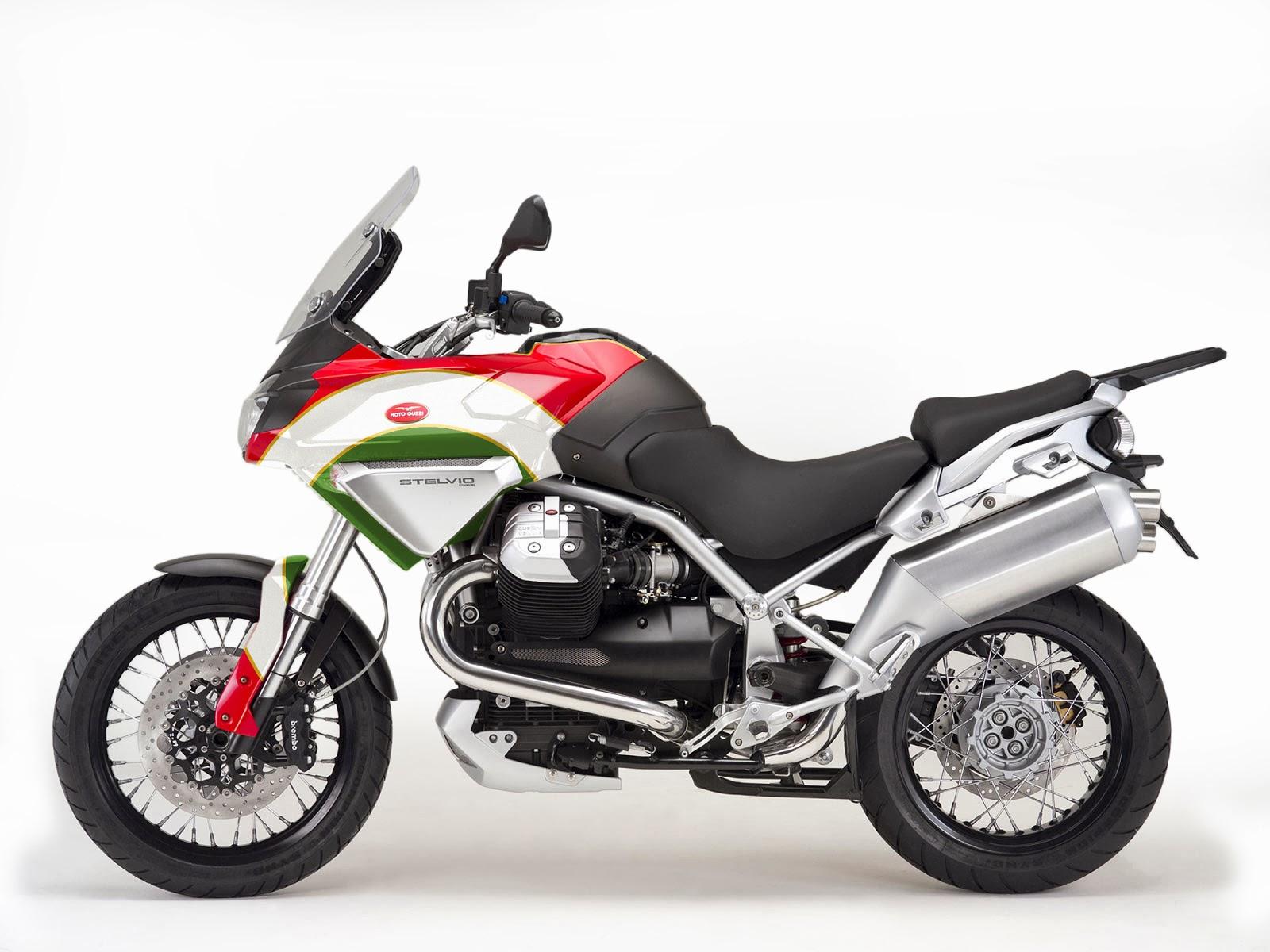Moto Guzzi Stelvio Tricolore by Luca Bar - autoevolution