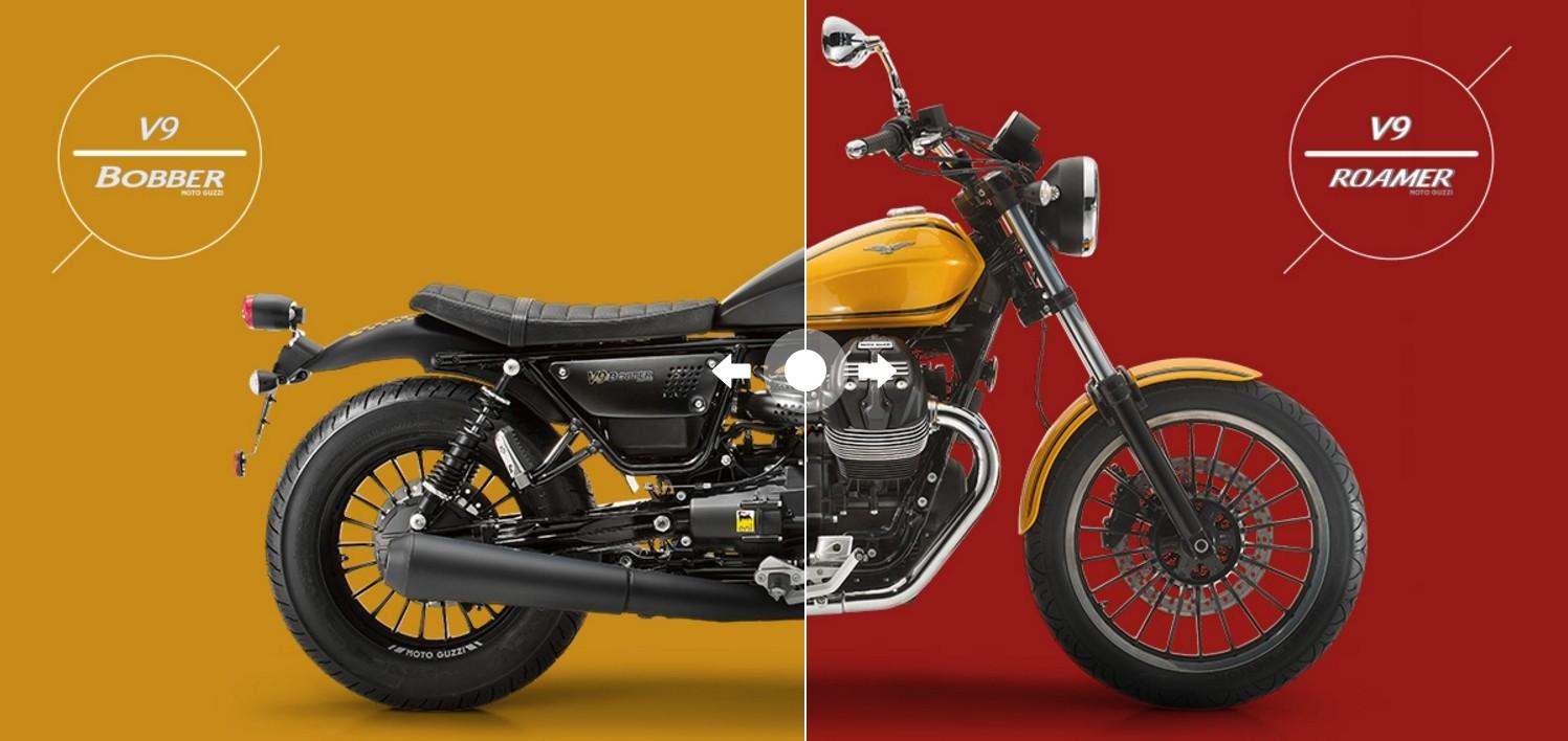 moto guzzi v9 bobber and v9 roamer prices announced. Black Bedroom Furniture Sets. Home Design Ideas