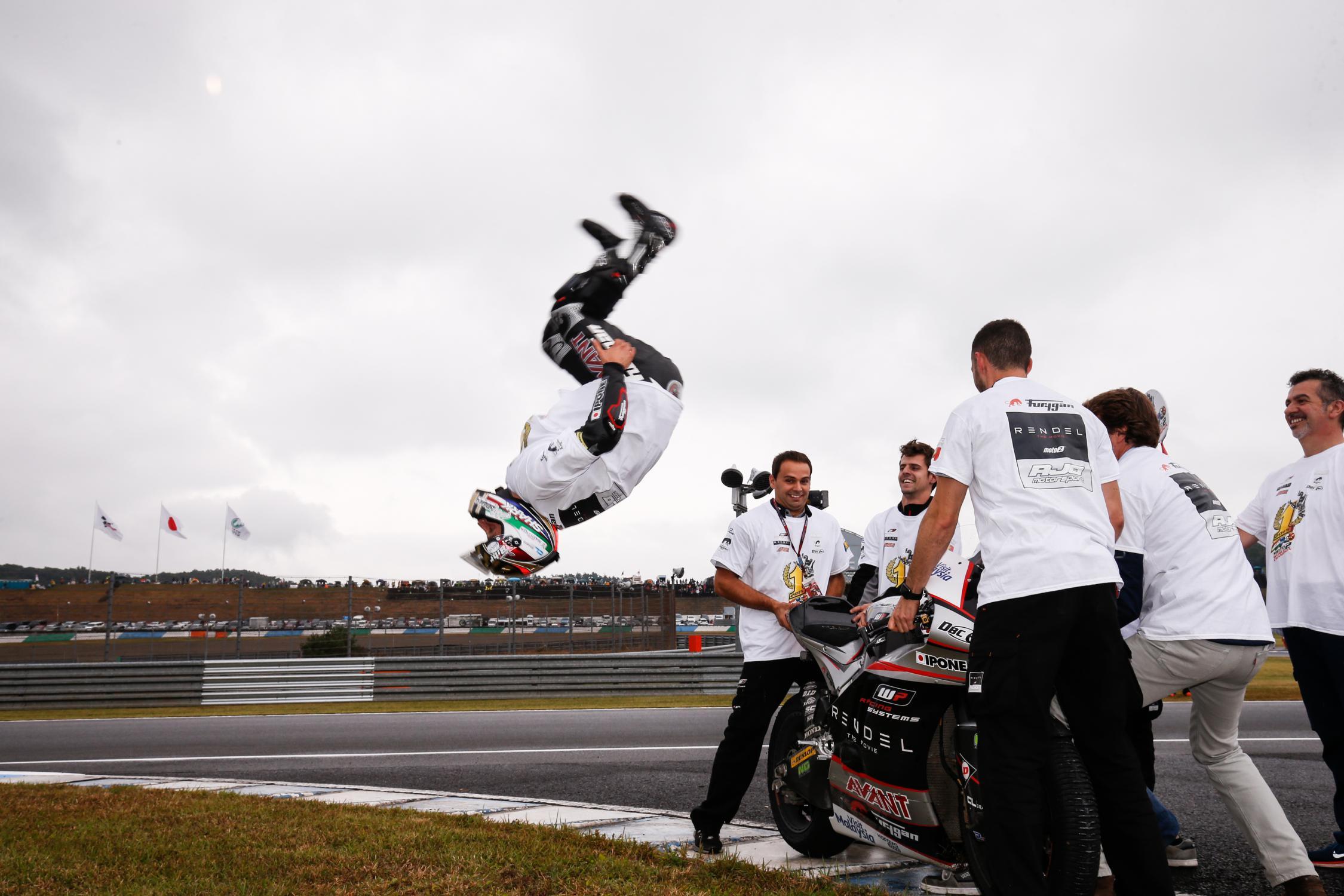 Moto2 Champion Johann Zarco Rumored to Ride with Suzuki in MotoGP Next Year - autoevolution