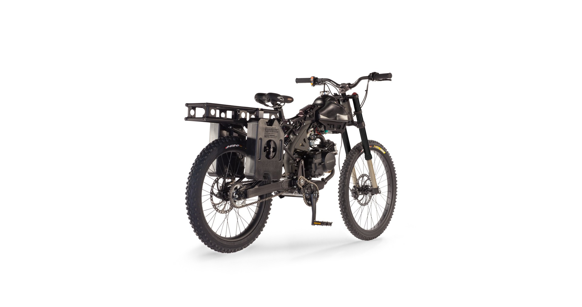 Motoped Survival Bike Is The Ultimate In Pedal-Power Adventuring ...