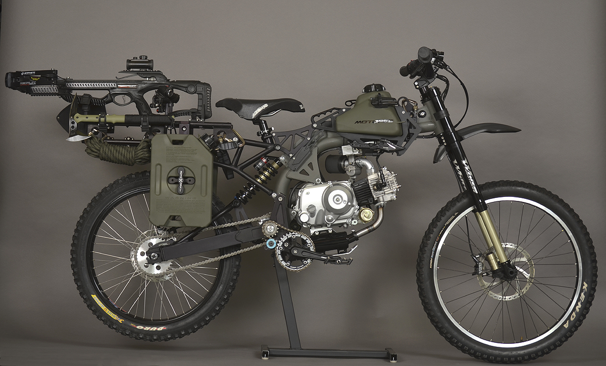 Motoped Survival Bike Is The Ultimate In Pedal-Power