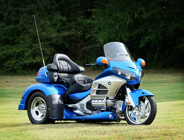 motor trike irs mod kit for honda gold wing - autoevolution