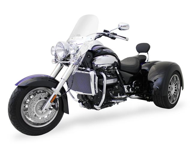 Motor Trike Unveils Triumph Rocket Iii Trike Autoevolution