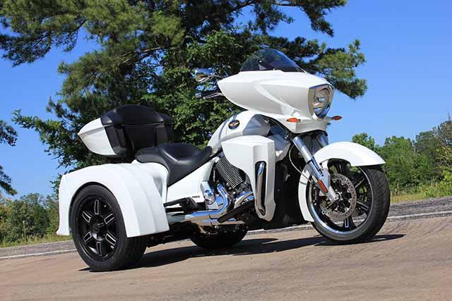 Motor Trike Vortex is a Modified Victory - autoevolution