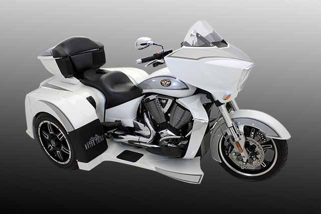 Motor Trike Vortex Is A Modified Victory Autoevolution