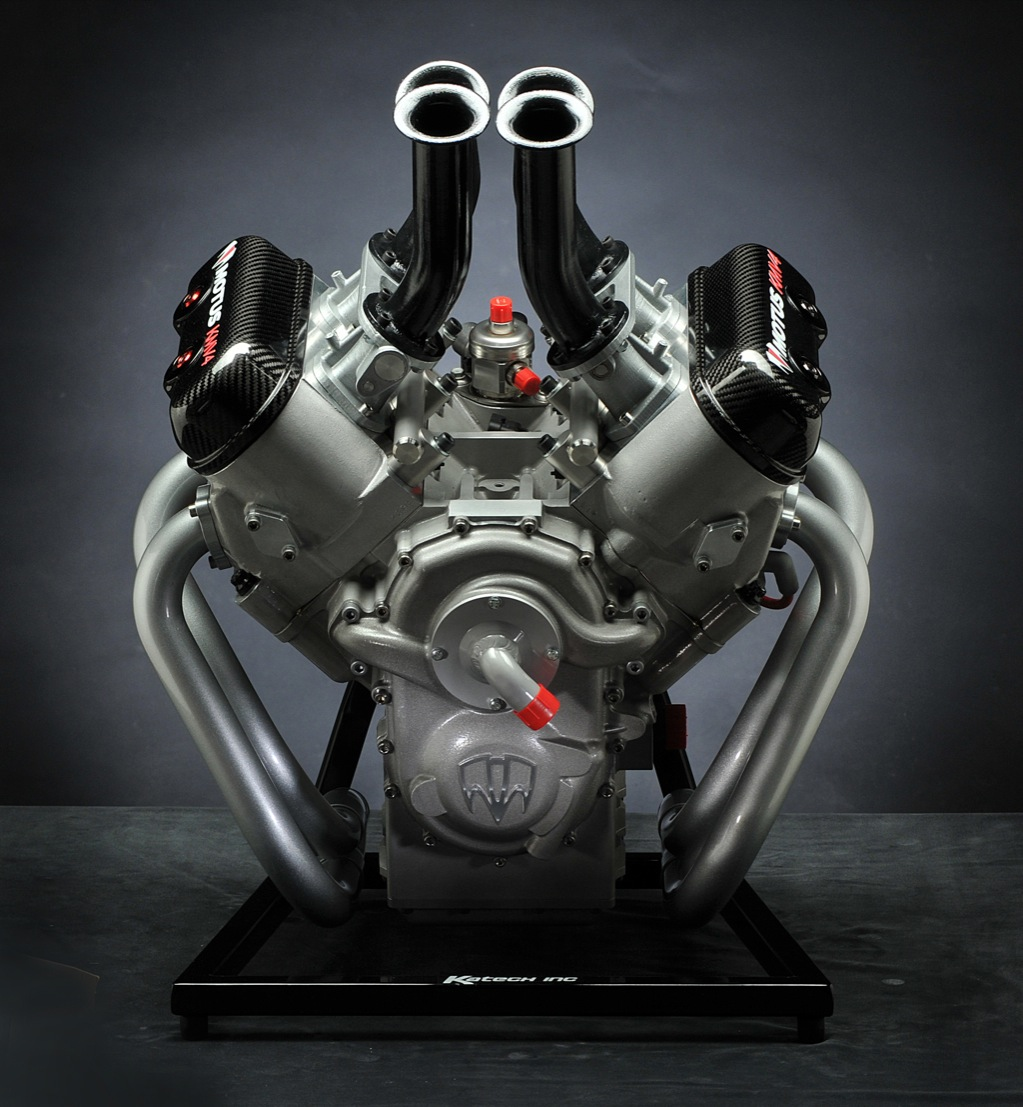 Motus Motorcycles Introduces World's First Direct Injected V4 Engine - autoevolution