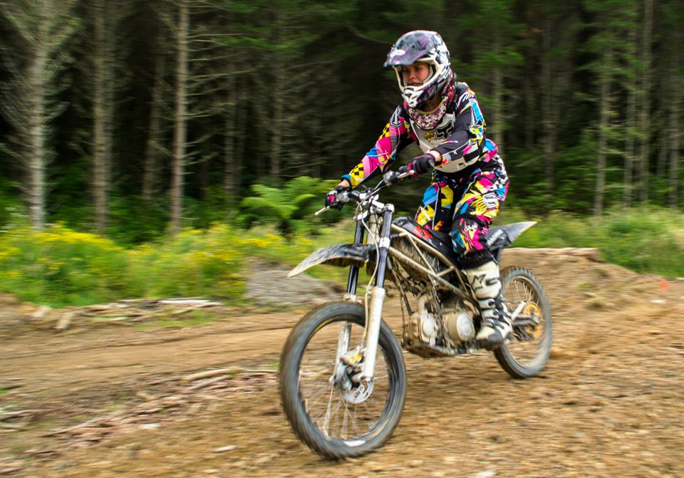 Mountain Moto Fx5 The World S Lightest Enduro Bike