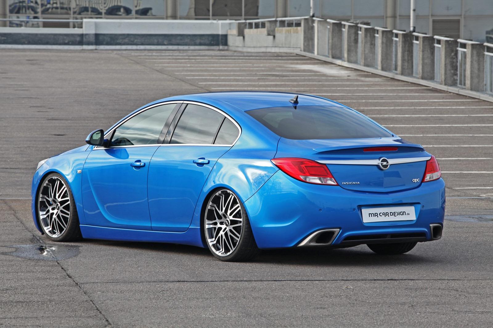 Car Won T Start >> MR Car Design Tunes Opel Insignia OPC - autoevolution