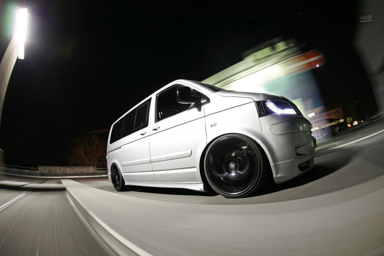 MR Car Design VW Transporter T5 Released - autoevolution