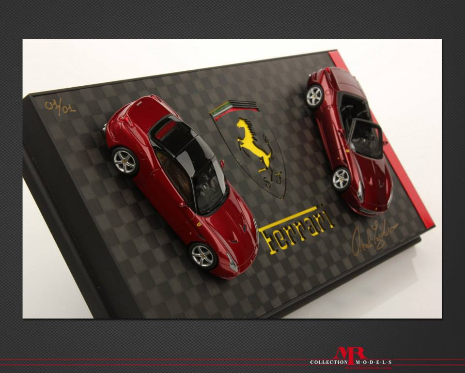 ferrari california t 118 scale model by mr collection