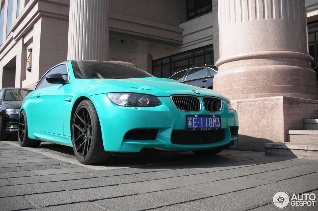 Mr Joe S Bmw E93 M3 Is Mint Green In China Autoevolution