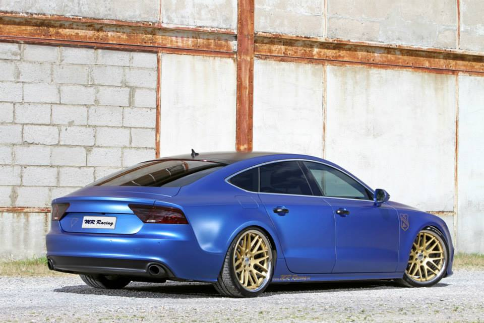 mr racing tuned audi a7 tdi the blue wonder autoevolution. Black Bedroom Furniture Sets. Home Design Ideas