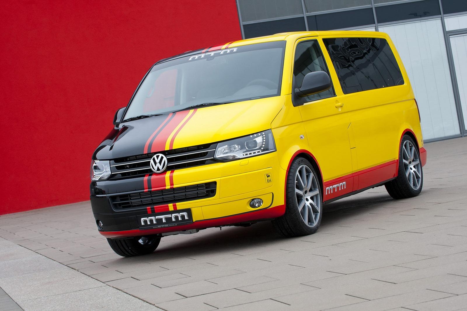 MTM Volkswagen T5 Van Delivers 472 HP - autoevolution