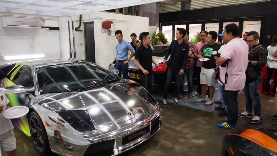 Multichrome Lamborghini Murcielago By Impressive Wrap