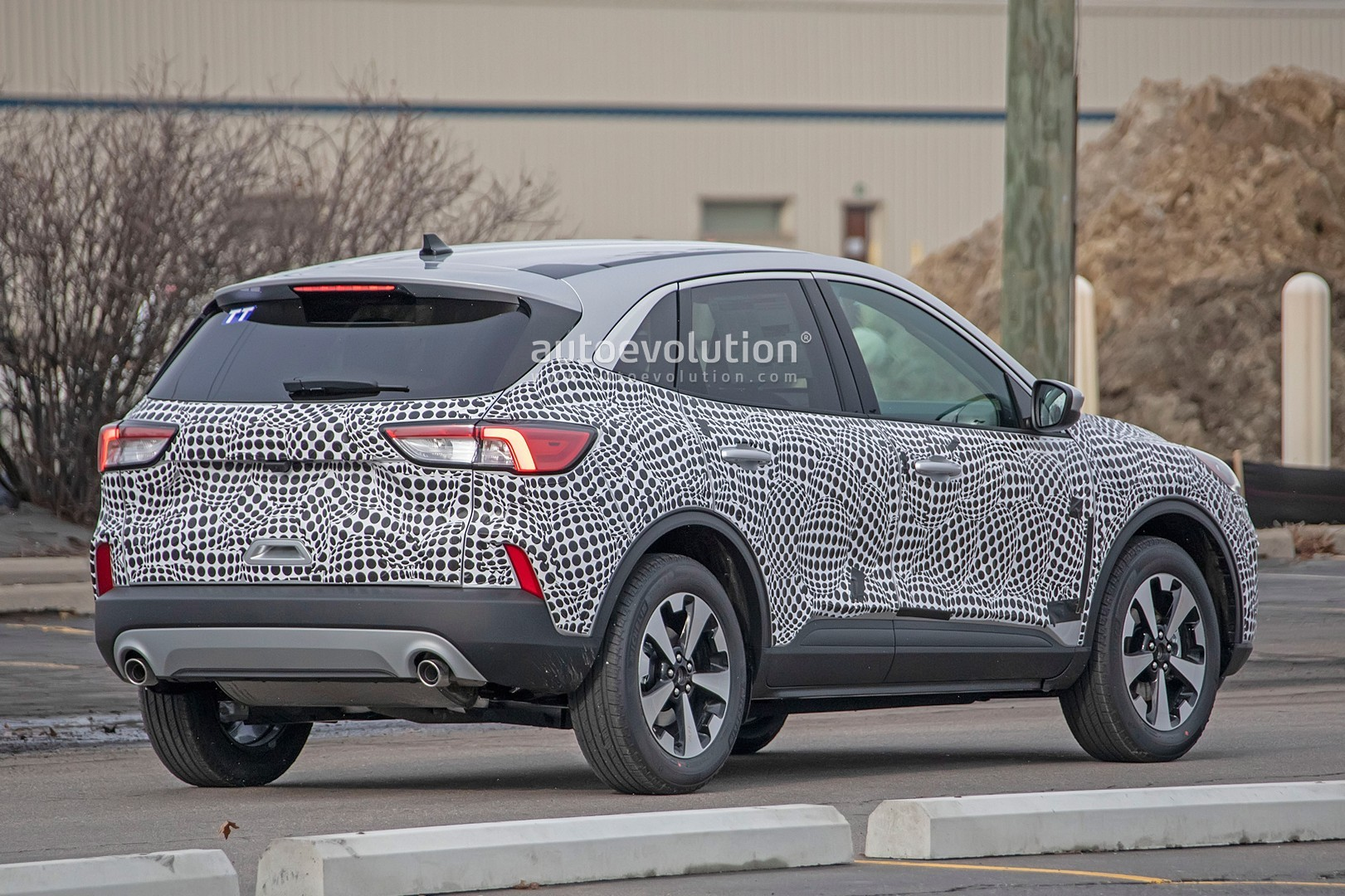 2020 Ford Escape Kuga Spied With Production Body Looks Like Jaguar Focus