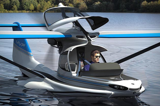 Mvp Is An Aircraft You Use Both As A Boat And Camping