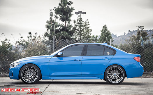 N4S Motorsports Presents: Project Smurf BMW F30 328i ...