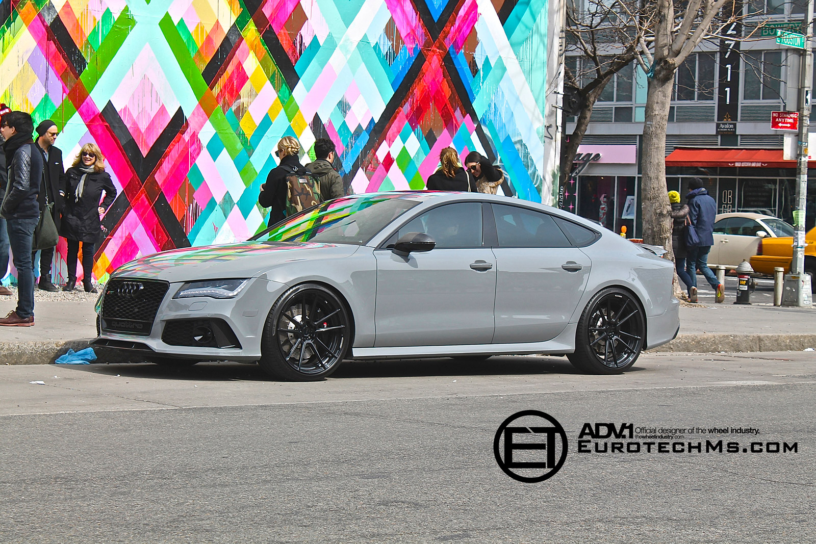 Nardo Gray Audi RS7 Rides on ADV.1 Wheels - autoevolution