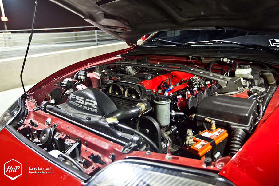 Naturally Aspirated Toyota Supra Rides On Work Equips