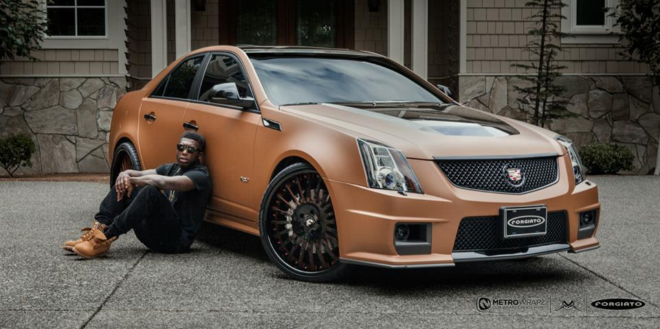 Nba Star Nate Robinson Takes His Cars For A New Wrap