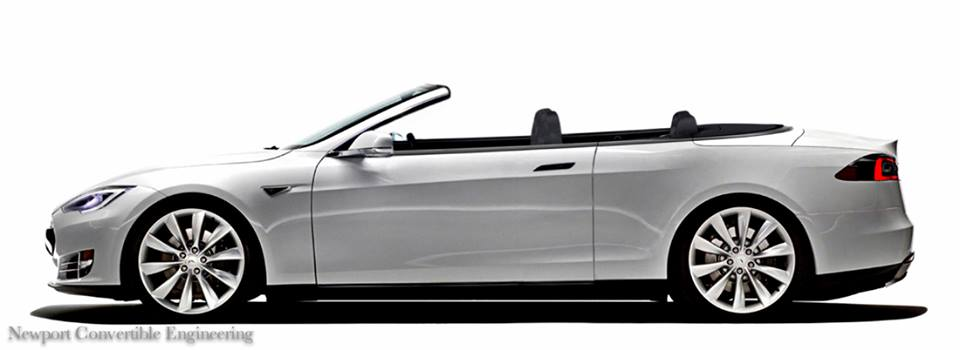 Nce To Build Tesla Model S Two Door Coupe And Convertible