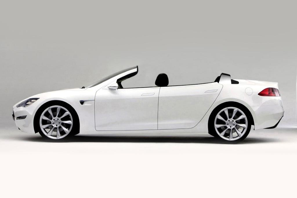 Tesla Model S Convertible By Nce