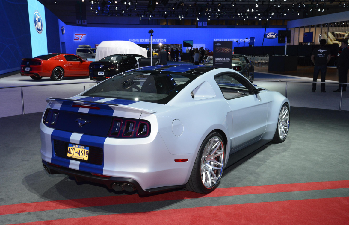 Need For Speed Mustang Storms Into La Live Photos