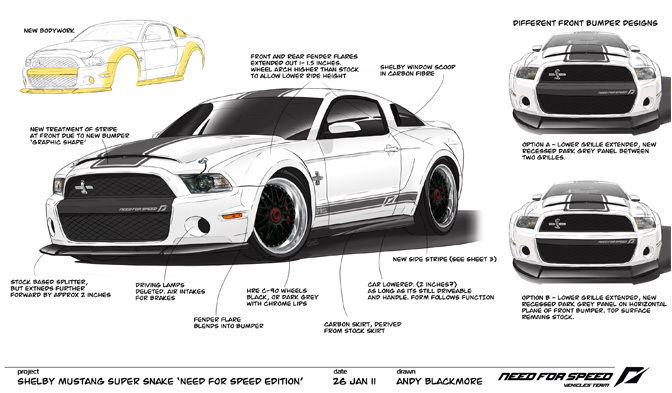 Need For Speed Shelby Gt500 Is The Last Car Built With Carroll