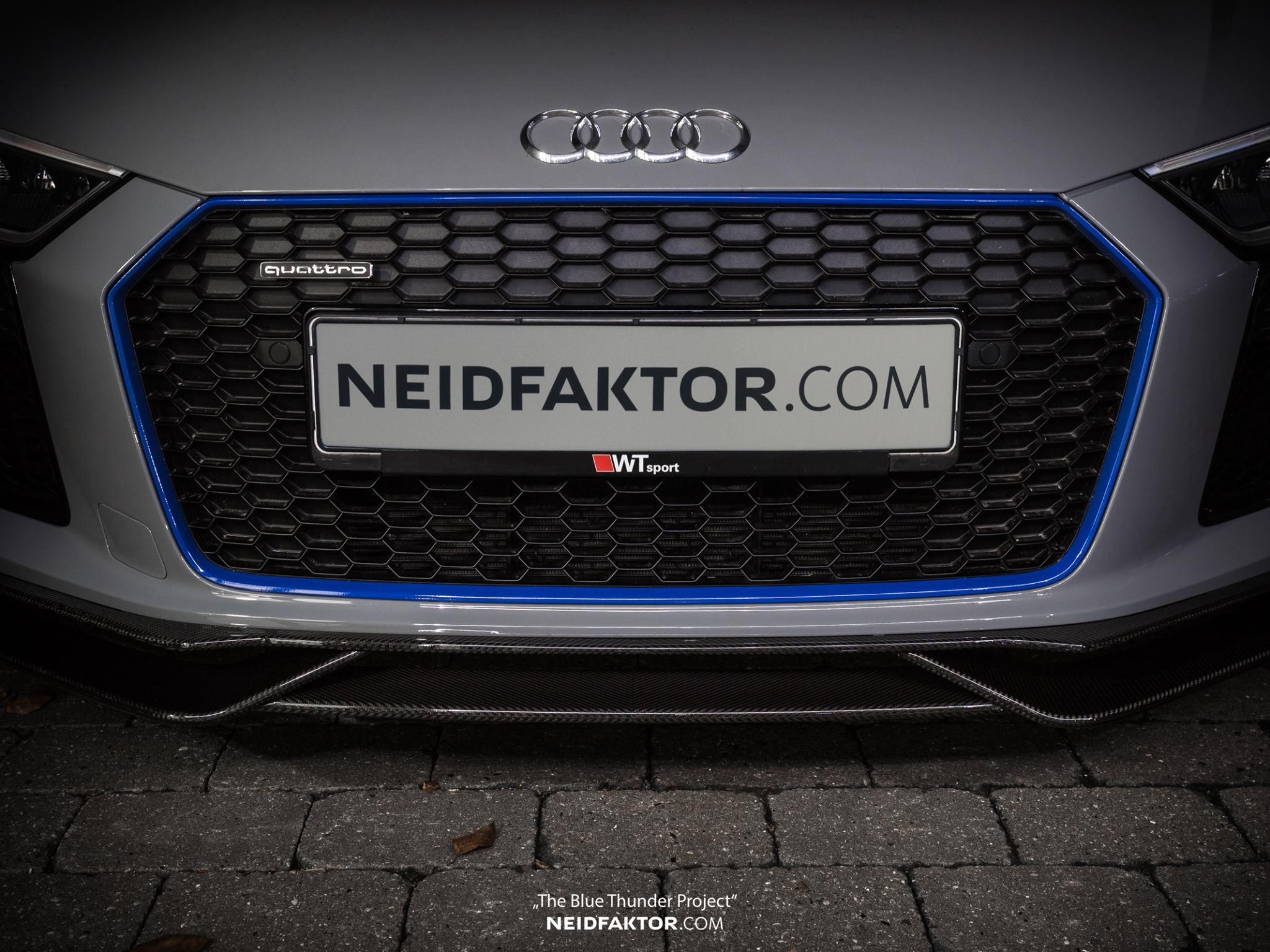 Neidfaktor Covers The Audi R8 In Carbon Fiber Autoevolution