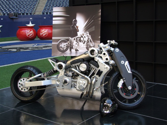 Neiman Marcus Auctions Off Fighter Motorcycle Autoevolution