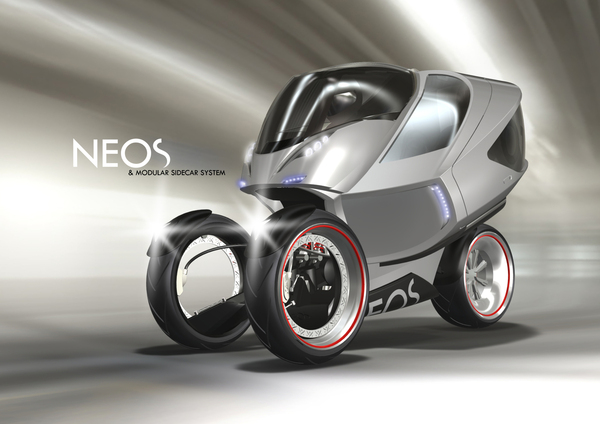 Neos A Crazy Yet Amazing Trike Concept By Daniel Munnink