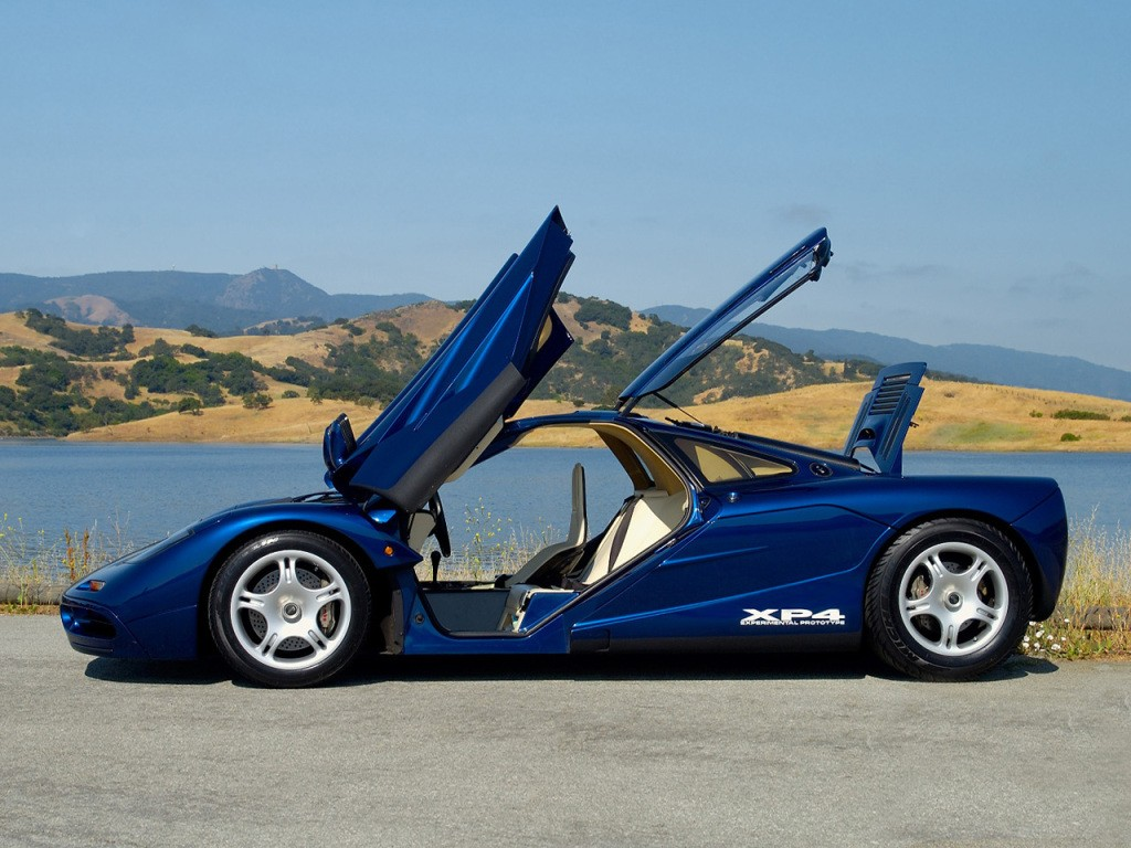 UPDATE: Stanced McLaren F1 Looks Ruined, Sits On the ...