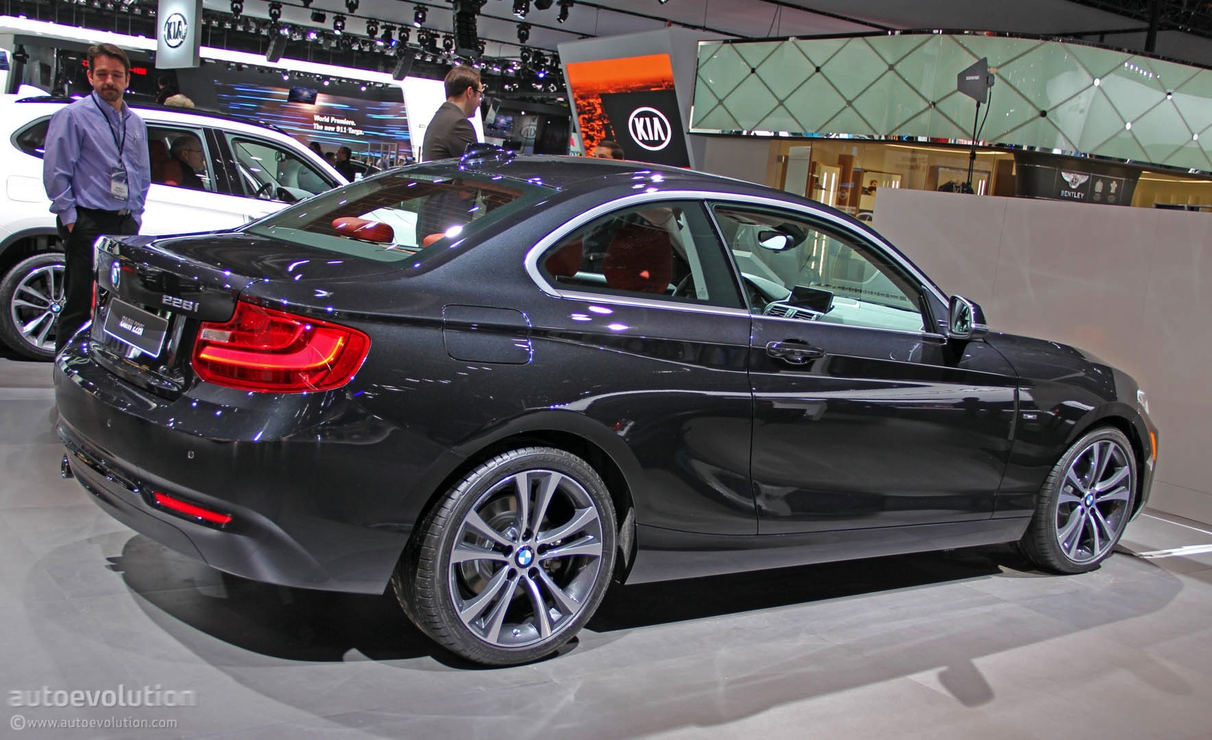 New 2 Series Coupe Is A True Bmw In Detroit Live Photos Autoevolution