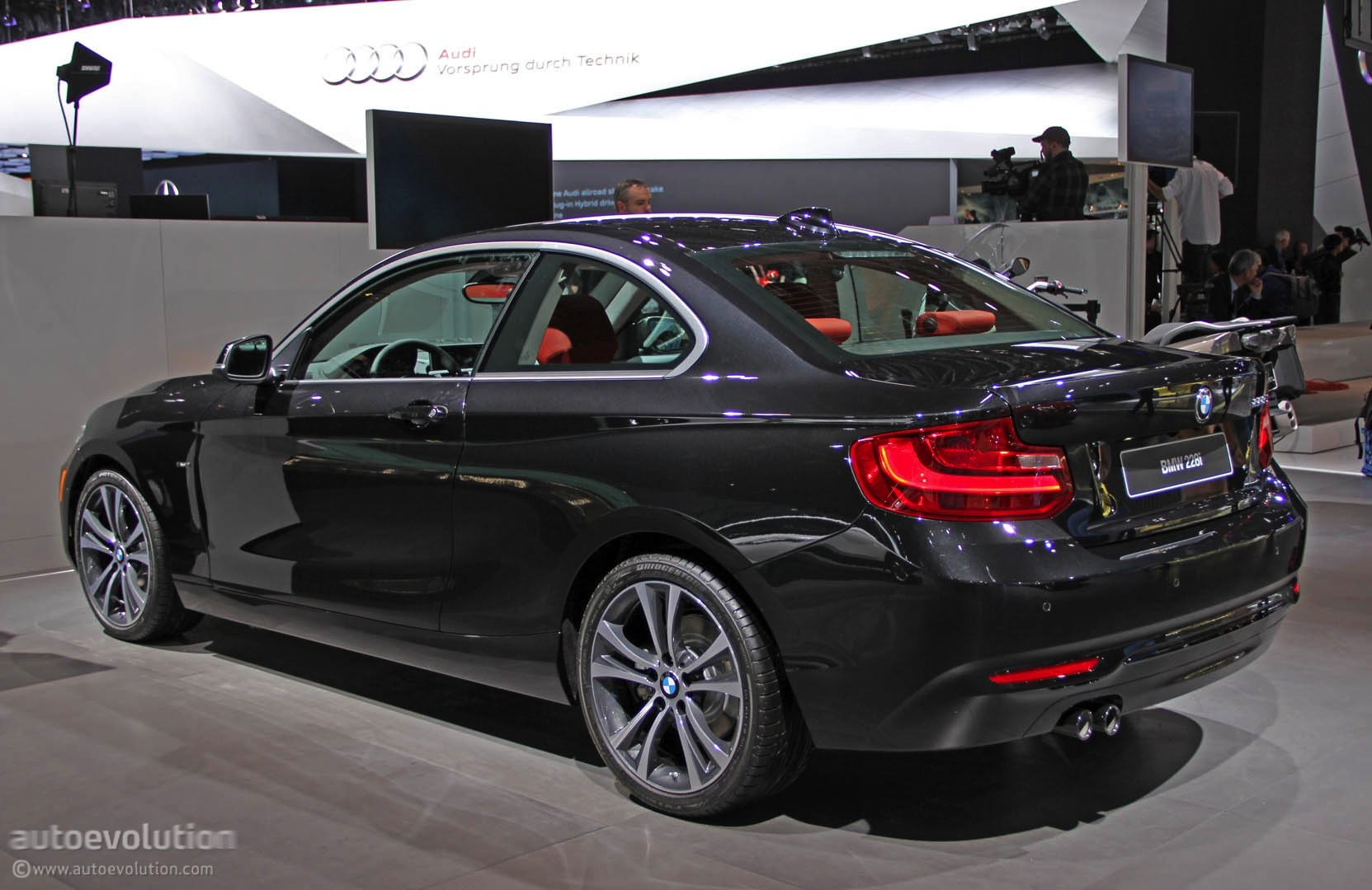 New Series Coupe Is A True BMW In Detroit Live Photos - 228i bmw