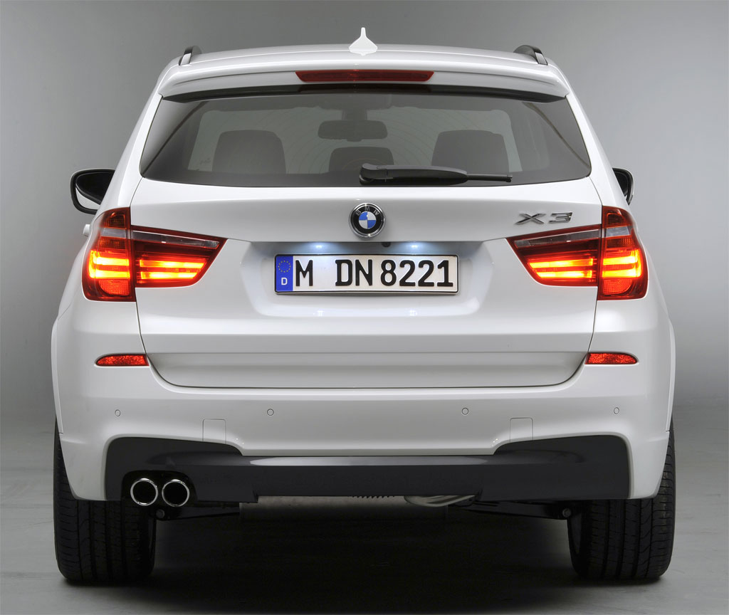 Bmw X3: New 2011 BMW X3 M Sport Package Images Revealed