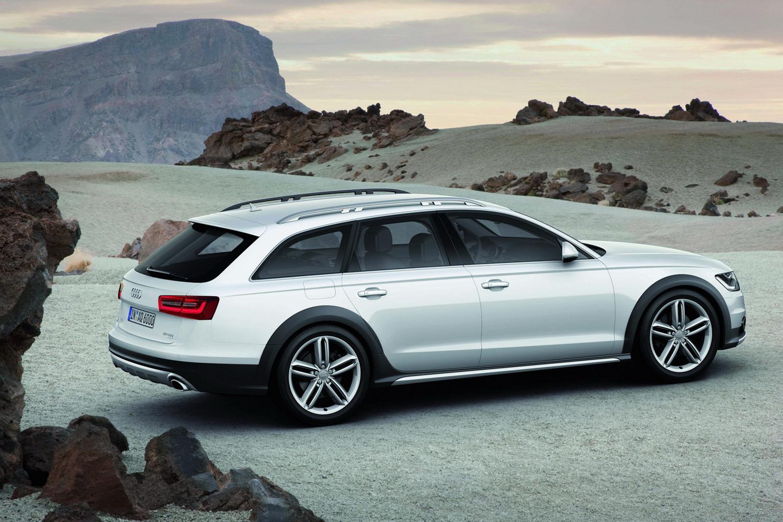 New 2013 audi a6 allroad unveiled autoevolution