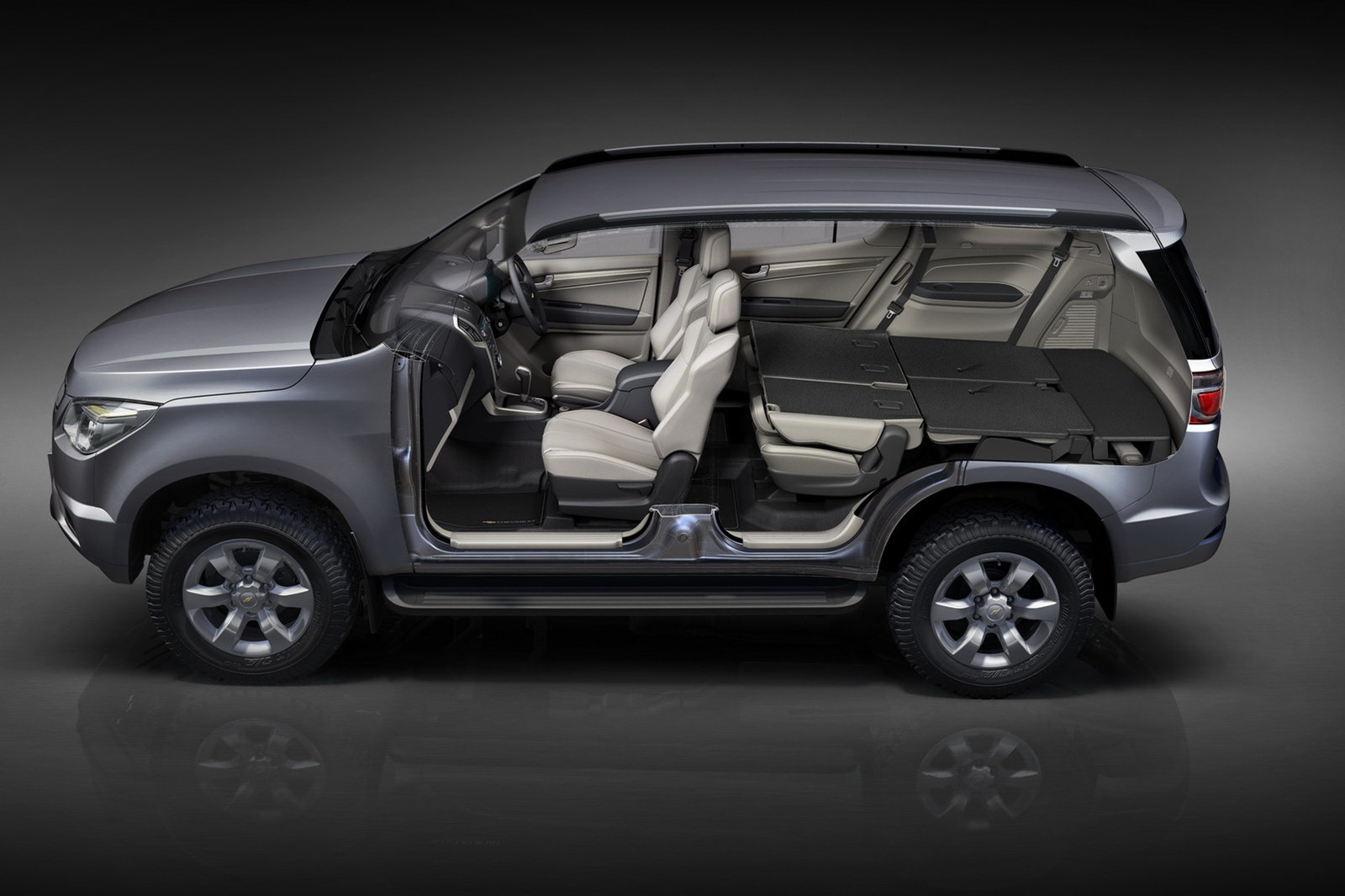 New 2013 Chevrolet Trailblazer Presented US Launch