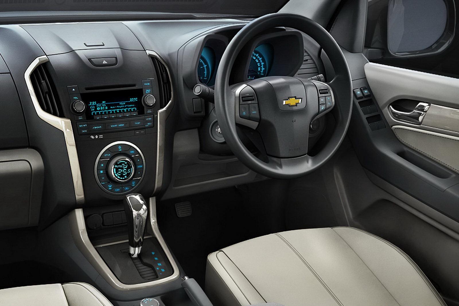 New 2013 Chevrolet Trailblazer Presented Us Launch