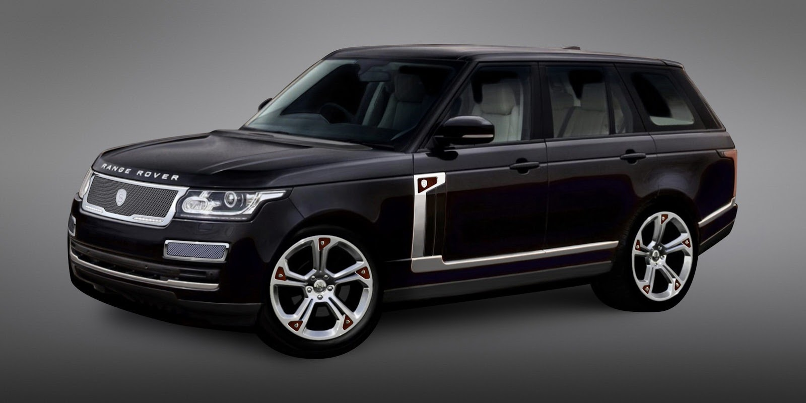 New 2013 Range Rover Gets Strut Visual Tuning Kit